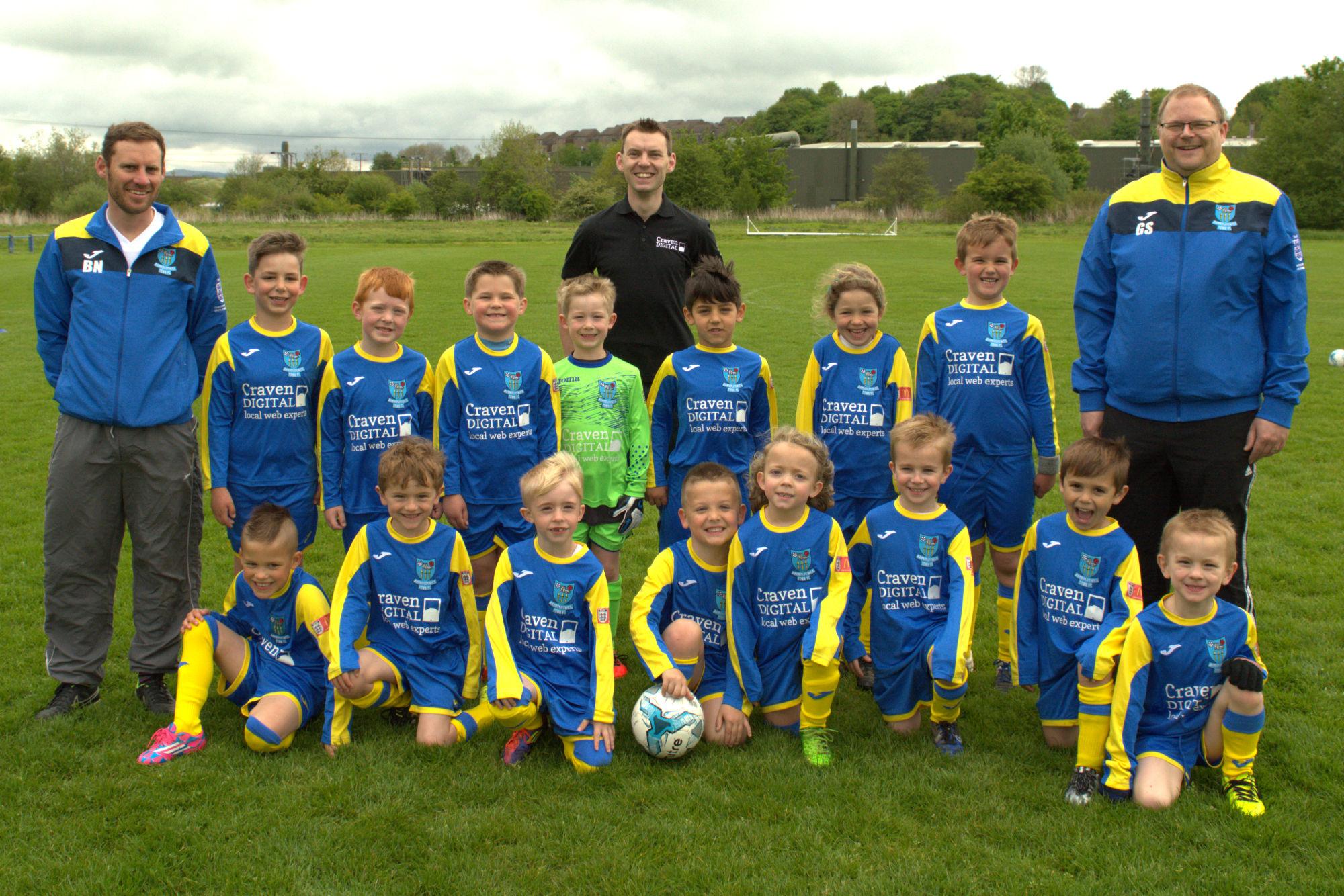 barnoldswick-town-juniors-under-6-team